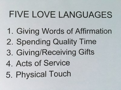 what is my partners love language