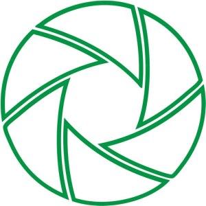 Green shutter favicon