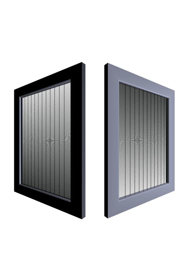 MicroLouvre Ember Screen Model