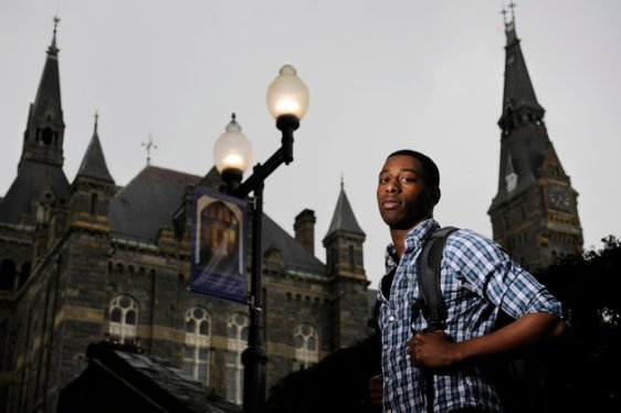student-at-georgetown