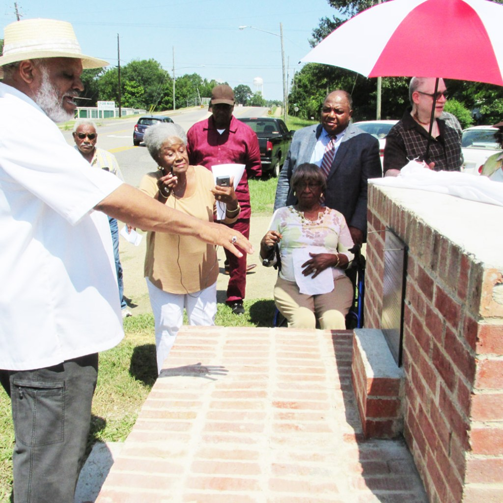 New Civil Rights monuments unveiled as part of 50th anniversary of