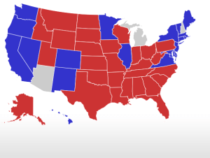 Latest Electoral Map