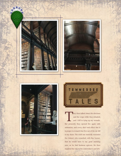 Tennessee Tales digital layout kit - copyright 2018 grene edition - greene edition