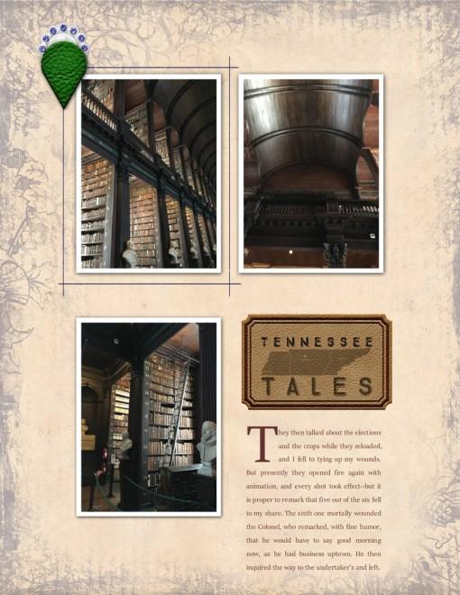 Tennessee Tales digital layout kit - copyright 2018 grene edition - greene edition