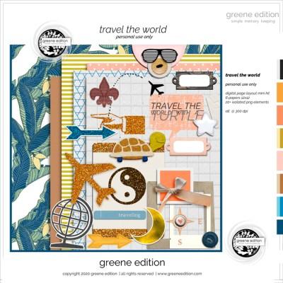 Around The World: The Kit, greene edition
