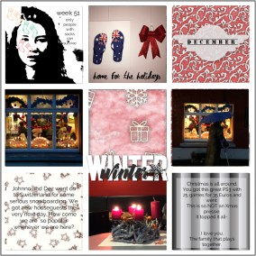 greene edition - 4x4 pocket cards - 25 days of december - simple memory keeping- freebie - layout