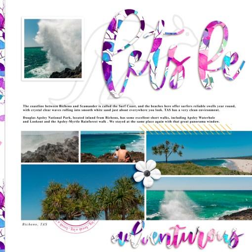 greene edition , digital page layout kit, scrapbooking min kit, copyright 2019 greene edition