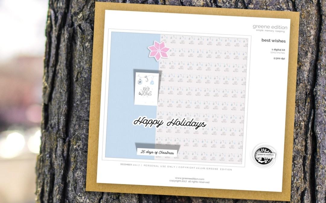 Freebie: Best Wishes Mini Kit