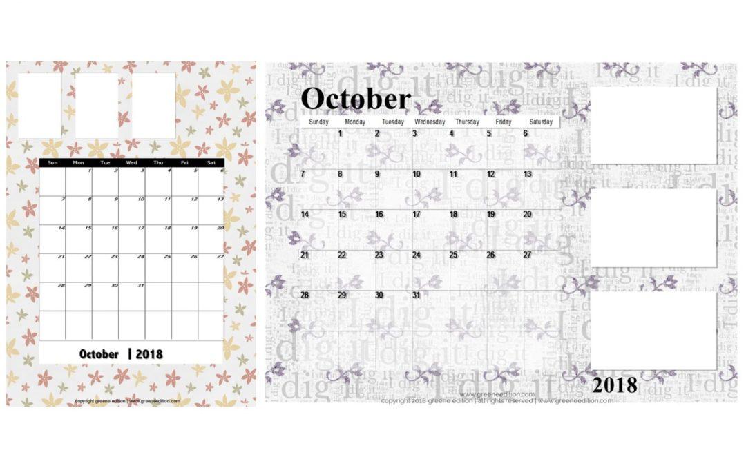 October Calendars