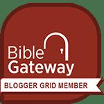 Bible Gateway Bloggers