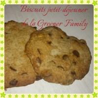 Recette zéro déchet - Biscuit petit-déjeuner