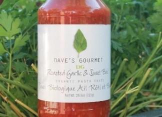Dave's gourmet pasta sauce