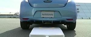 Nissan Leaf Wireless Charging