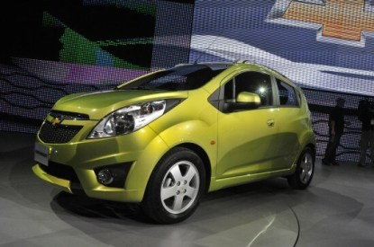 Chevy Spark at Autoshow