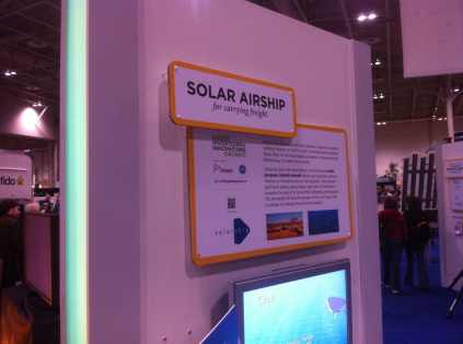 Solar Airship for Carrying Freight