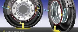 Goodyear self-inflating tires