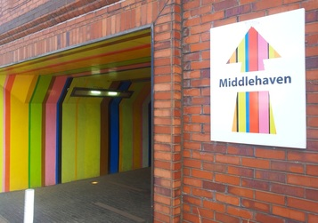 Middlehaven LED tunnel