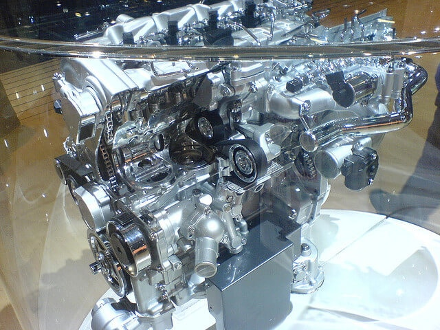 Clean diesel engine