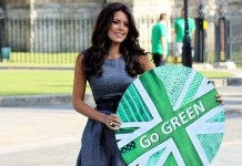 Danielle Lineker Team Green Celebrity Ambassador