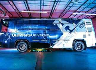 UTAH STATE UNIVERSITY ELECTRIC BUS