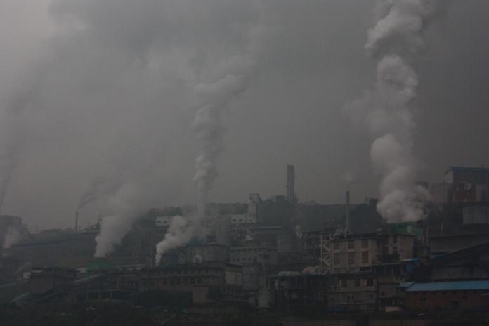 Asia air pollution