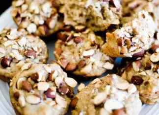 low fat banana muffins
