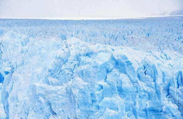 Andes glaciers