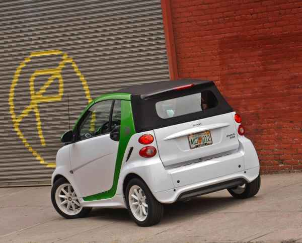 2013 Smart EV Boot