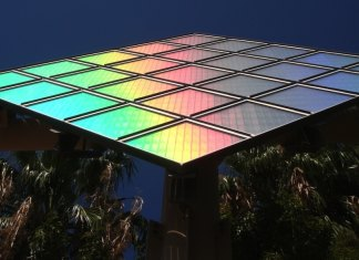 technicolor solar panel