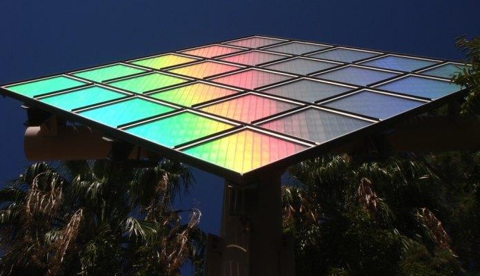 technicolor solar panel