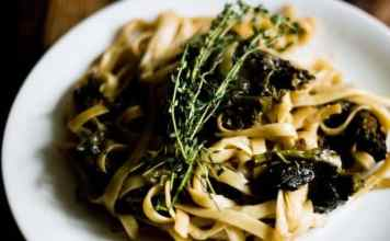 Balsamic Rapini Linguini