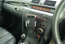 iphone in car