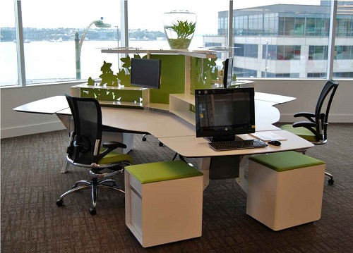 the smart way to a sustainable office design greener ideal