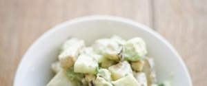 Creamy Vegan Cucumber Potato Salad