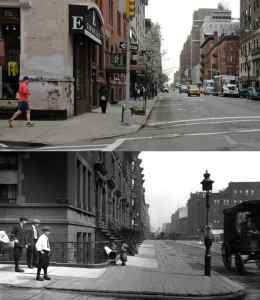 NYC now and then
