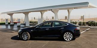 Tesla Model S and Supercharger