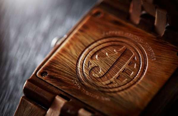 JORD wood watch logo