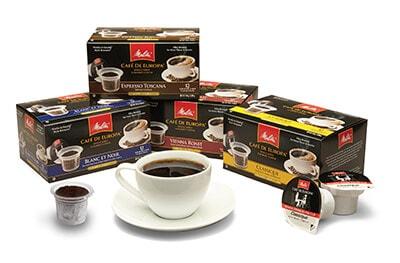 Melitta Single-Serve Coffee Cups