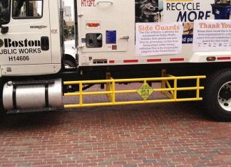 Boston trucks cyclists