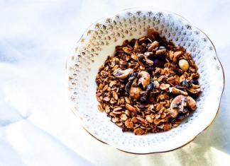 Cocoa Granola Clusters