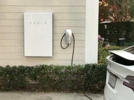 Tesla Powerwall 2 on house