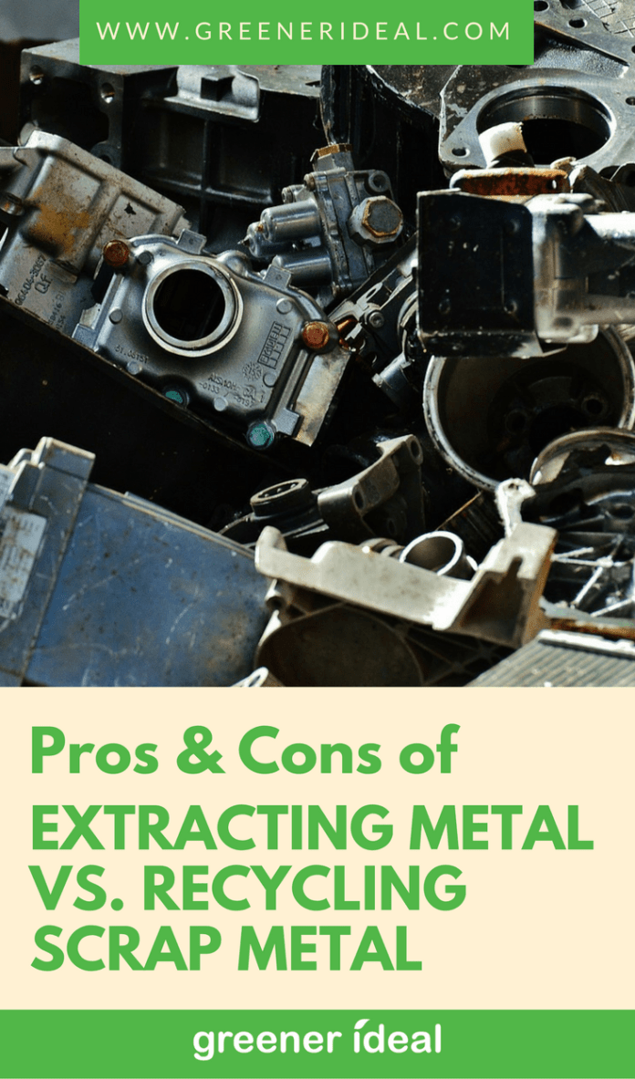 Metal is extracted from the soil. It is then refined, processed, and transported to various manufacturers where it will undergo further procedures to become products. However, these processes do a lot of damage to the environment. To offset the damages, we are encouraged to recycle metal.