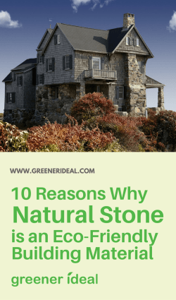 eco-friendly building material natural stone