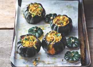 Walnut Stuffed Squash