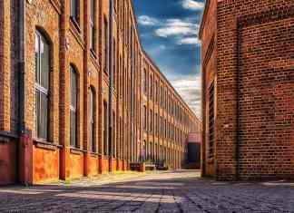Red Brick Factory Exterior