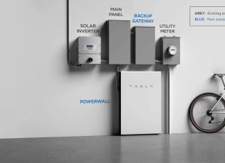 Tesla powerwall clean energy battery