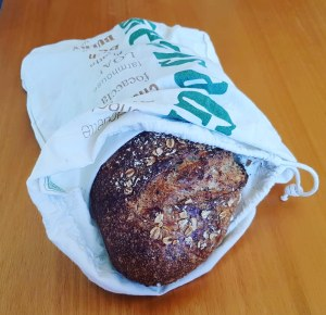 Buy bread taking your own bag