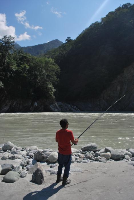 Fishing for living