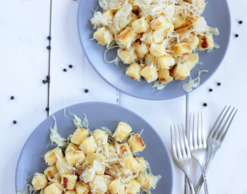 Sauerkraut Gnocchi