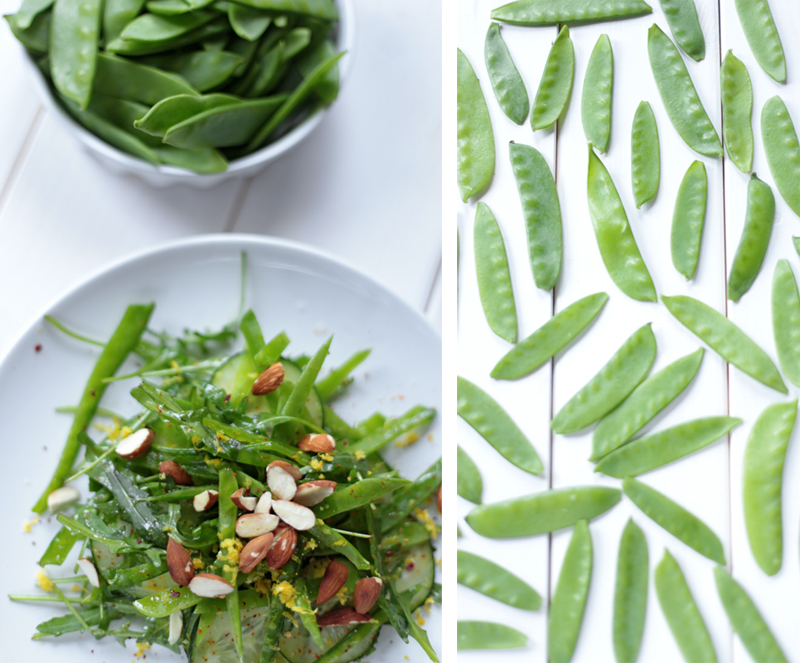 Snow Peas Salad